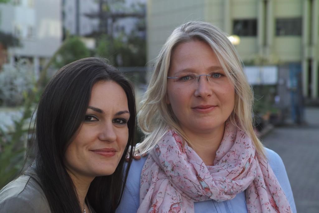 Die Gründerinnen Katharina Dück (links) und Elena Kisel (rechts)