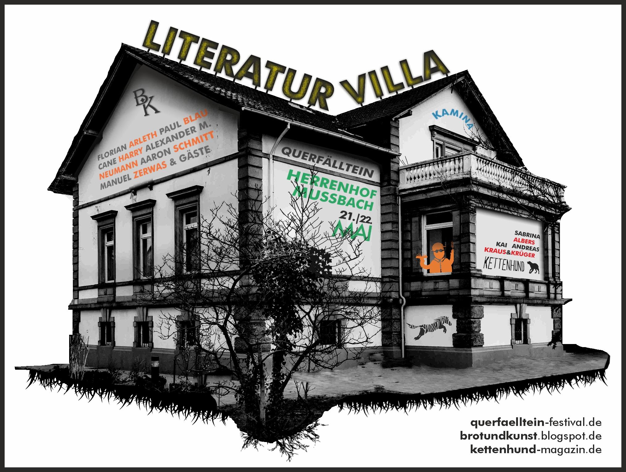 Literaturvilla Herrenhof (Foto: Peter Hofmeister, Bearbeitung: Florian Arleth)